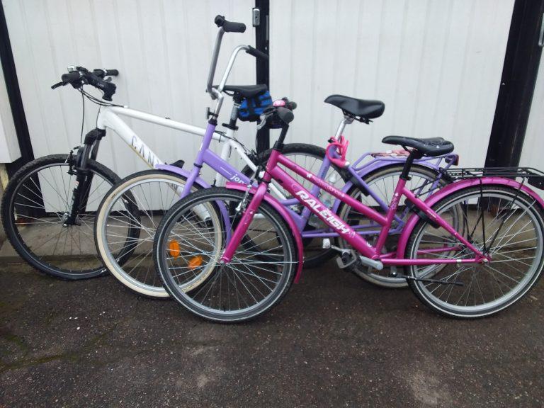 Polkupyörä- ja puutarhakausi alkaa! Onko pyörät tai puutarhakoneet vielä huoltamatta?